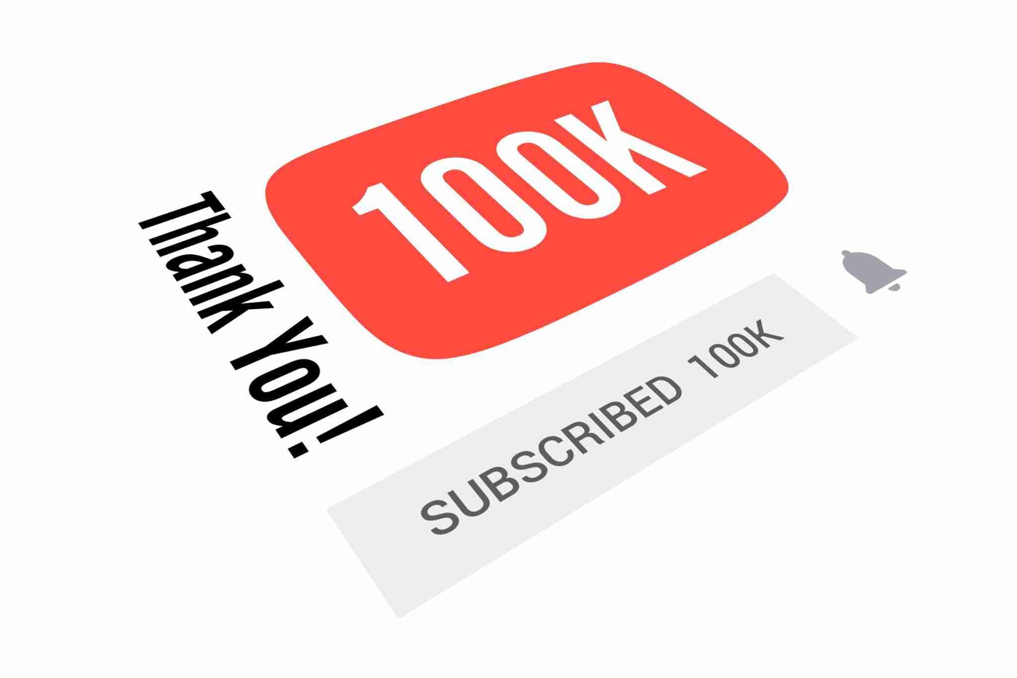 كيف تصل من صفر الي ١٠٠ الف مشترك لقناة اليوتيوب