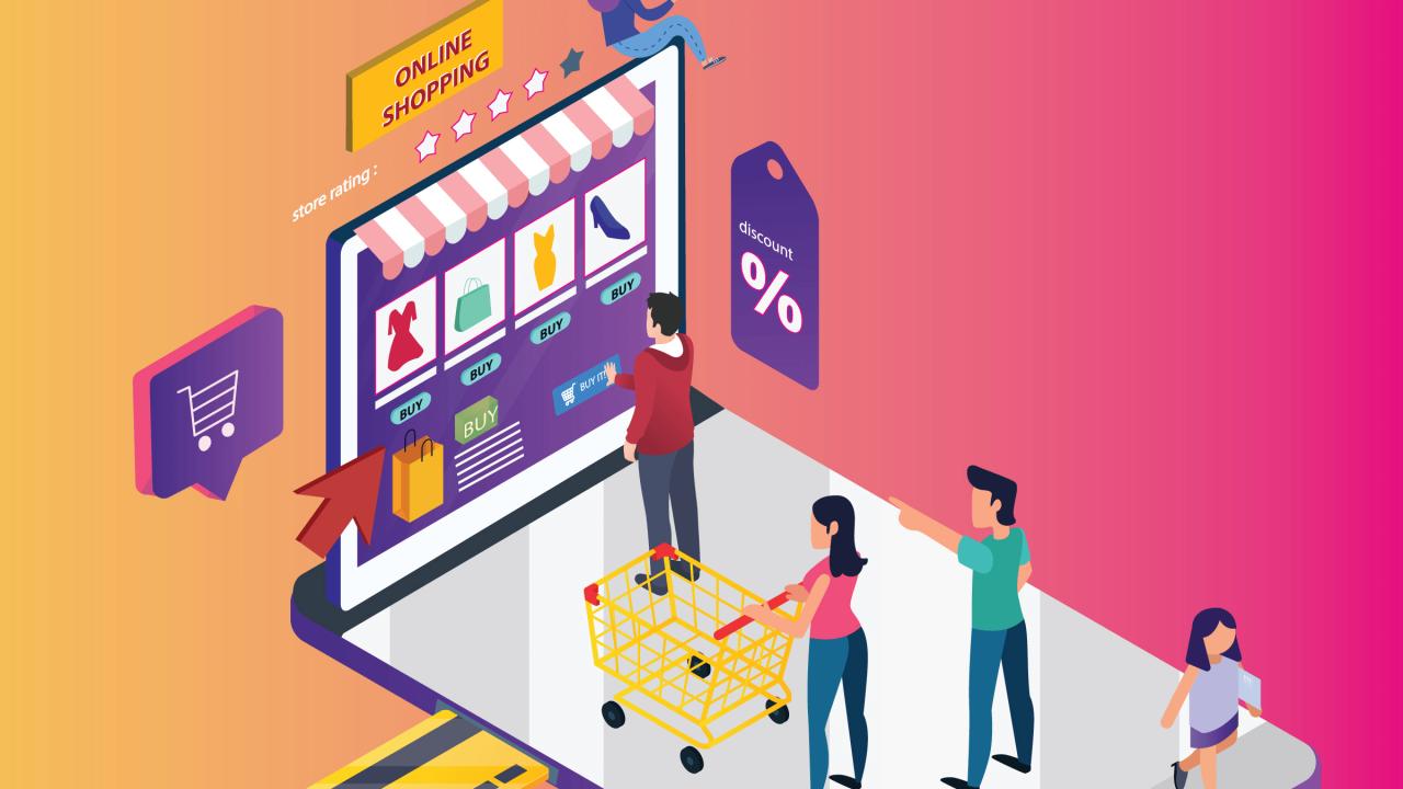 كيف تختار عربة التسوق المناسبة لأعمالك في 2021؟